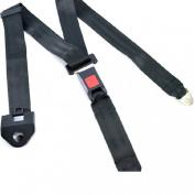 Denshine® Black 3 Point Auto Car Suv Seat Adjustable Shoulder Safety Belt Clip