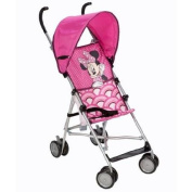 Disney Umbrella Stroller with Canopy (All about Minnie) Stroller is Designed for a Child Up to 18kg 3- Point Harness