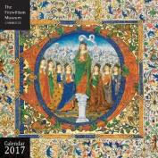 Fitzwilliam Museum Illuminated Manuscripts wall calendar 2017