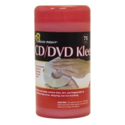 Advantus CD/DVD Kleen Cleaning Wipes