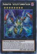 Yu-Gi-Oh! - Raidraptor - Satellite Cannon Falcon - WIRA-EN024 - Secret Rare - 1st Edition (WIRA-EN024) - Wing Raiders - 1st Edition - Secret Rare