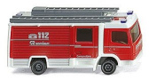 N Scale Emergency - Fire Dept. Vehicles - Rosenbauer -- Compactline LF10/6 CL Closed Cab Engine