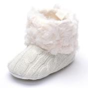 Baby Plush Boots White US 4