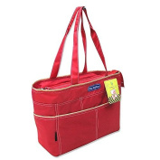 2-Piece Red Baby Changing Bag for on the go Selection of Colours