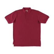 Girls Universal Unisex S/S Pique Polo (Adult Sizes S - XXL) - burgundy, xl