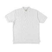 Girls Universal Unisex S/S Pique Polo (Adult Sizes S - XXL) - white, l