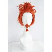 LanTing Danganronpa Dangan-ronpa Kuwata orange w/w bear Cosplay Party Fashion Anime Wig hair