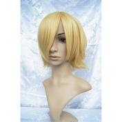 LanTing Ouran Koukou Hostclub Honey Gold Short Cosplay Party Fashion Anime Wig hair