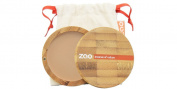 Zao Organic Makeup Compact Powder Beige Orange 302 10ml