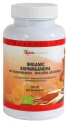 Aktiv Organic Ashwagandha 500mg Capsules, 120 Vegetarian Capsules, Certified Organic