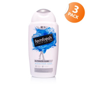 Femfresh Ultimate Care Active Fresh Wash Silver 3 Pack