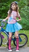 Electric Blue Tutu Skirt
