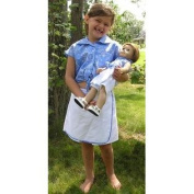 Matching Skort Outfit for Girl and Dolls Size 5