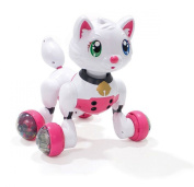 NMIT® Electronic Kitty Toy - Talking Super Space Puppy Kitty Electronic Pet Toy - Large Touch Sensor & Voice Activated Interactive Educational Voice Control I-Robot Kitty Toy 15 Voice Commands - for Boys and Girls