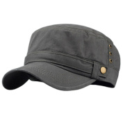 Outdoors Casual Peaked Cap Flat-top Cap Adjustable