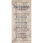 Dexsa Marriage Prayer New Horizons Wood Plaque