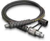 Enerpac - HC9206B - Hydraulic Hose, Rubber, 1/4, 1.8m