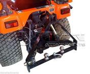 Kubota BX Trailer Hitch compact tractor drawbar 3 point three john deere