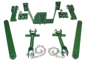 John Deere 3 Point Hitch Bolt on Conversion Kit for models A B G 50 60 and 70's