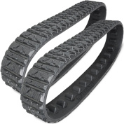 Two 15cm Rubber Tracks for Toro Dingo TX413 TX420 TX425