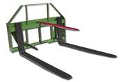 John Deere Global Euro 110cm Pallet Fork Hay Bale Spear Attachment Front Loader