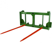 John Deere Hay Spear Attachment bale spike tractor loader 200 300 400 500 series