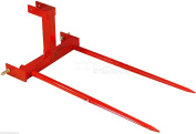 Titan Category 1 3 Point Attachment w/2 110cm Hay Bale Spears tractor spike Cat1D