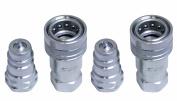 Titan 1.3cm Hydraulic Ag Quick Couplers Interchange 4050-4 & 8010-4 Pioneer PAIR