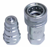Titan 1.3cm Hydraulic Ag Quick Couplers Interchange 4050-4 / 8010-4 Pioneer Deere