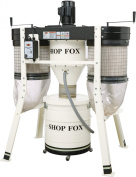 SHOP FOX W1816 3 H.P. Low Profile Cyclone Dust Collector