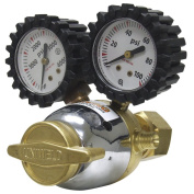 """Uniweld Uniweld RO Patriot Series Oxygen Regulator with """"A"""" Outlet Connexion and 540 CGA Inlet"""