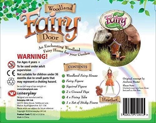 My Fairy Garden Woodland Fairy Door Toy (Multi,Colour)