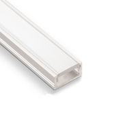 10 pieces SO-TECH® LED profiles-11 with covering in opal colour each for 2m LED strip