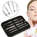 5PCS BLACKHEAD WHITEHEAD PIMPLE ACNE COMEDONE EXTRACTOR REMOVER TOOL SPOT REMOVAL