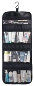 WODISON Transparent Clear Hanging Travel Toiletry Cosmetic Organiser Storage Bag Small