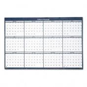 Reversible/Erasable Yearly Wall Calendar