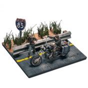 Walking Dead TV Daryl Dixon with Chopper Building Set by McFarlane