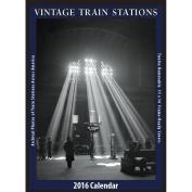 Vintage Train Stations 2016 Poster Calendar by Asgard Press