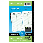 Dated One-Page-per-Day Organiser Refill, January-December, 3-3/4 x 6-3