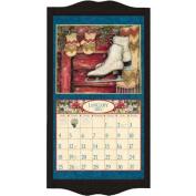 Lang Perfect Timing Lang Classic Black Diamond Calendar Frame 15 x 25 25 Inche