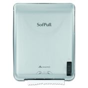 Georgia Pacific - 59316 - SofPull Recessed Mechanical Towel Dispenser, Stainless Steel, 15 x 10 x 18