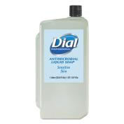 Dial - DIA 82839 - Antimicrobial Soap for Sensitive Skin, 1000mL Refill, 8/Carton