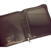 Bosca Leather Amber Zip Around iPad Case