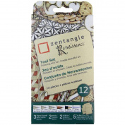 (Price/set)Pigma 50112 8.9cm Tan Renaissance Tile Set