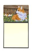 Corgi Refiillable Sticky Note Holder or Postit Note Dispenser SS8213SN