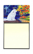 Great Pyrenees Refiillable Sticky Note Holder or Postit Note Dispenser SS8240SN