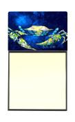 Crab Blue Refiillable Sticky Note Holder or Postit Note Dispenser MW1101SN