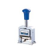 Lion Pro-Line Heavy-Duty Rubber faced Wheel Automatic Numbering Machine, 6-Wheel, 1 Numbering Machine