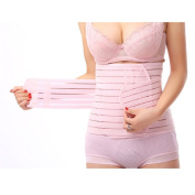 Sealike Breathable Elastic Postpartum Abdomen Recovery Belt Maternity Supports Belt Shaper Slimer Wrapper with Stylus (M