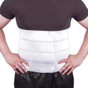 BraceAbility Plus Size Bariatric Abdominal Binder - Fits 140cm - 180cm Circumference